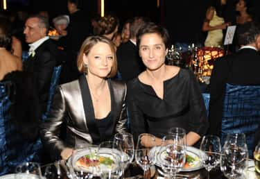 Jodie Foster is listed (or ranked) 2 on the list Gay Celebrities Who Are Married to Same-Sex Partners