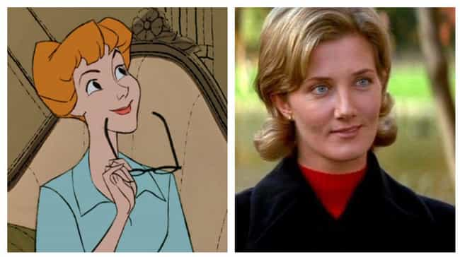 Joely Richardson is listed (or ranked) 3 on the list Actors Who Played Animated Disney Characters