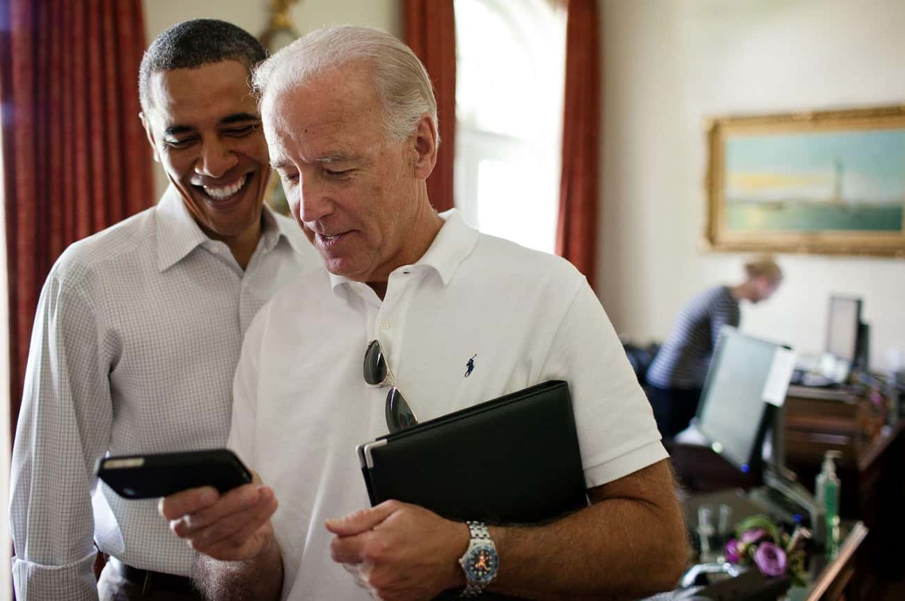 Joe Biden is listed (or ranked) 2 on the list Famous People Who Stutter