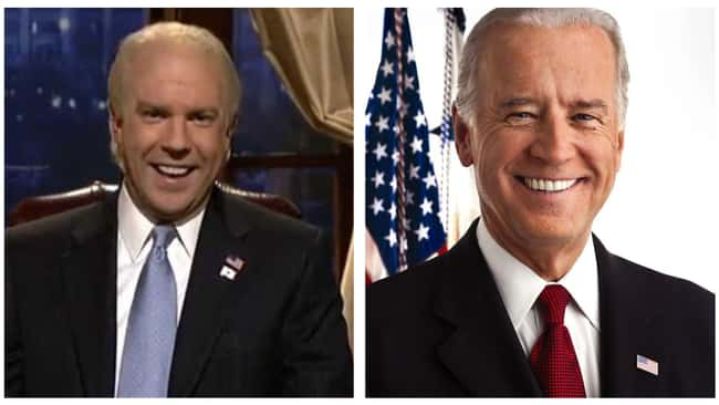 Joe Biden is listed (or ranked) 11 on the list Political Figures Share What They Really Thought Of SNL's Impressions Of Them