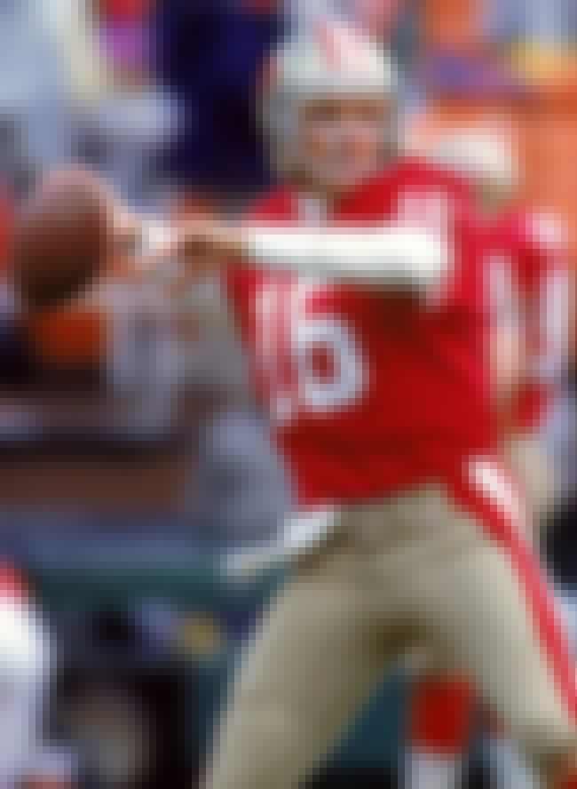Joe Montana is listed (or ranked) 3 on the list The Top 10 Best Football Players of the 1980's