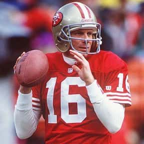 Joe Montana is listed (or ranked) 1 on the list The Best San Francisco 49ers Quarterbacks of All Time