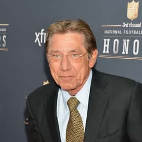 Joe Namath is listed (or ranked) 1 on the list Famous University Of Alabama Alumni