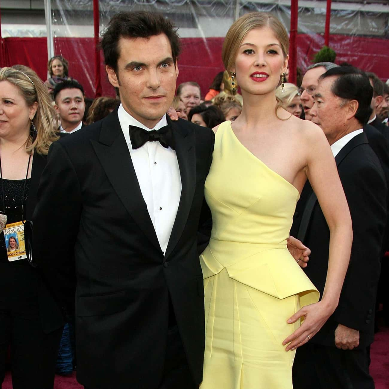 Joe Wright is listed (or ranked) 2 on the list Rosamund Pike Loves and Hookups