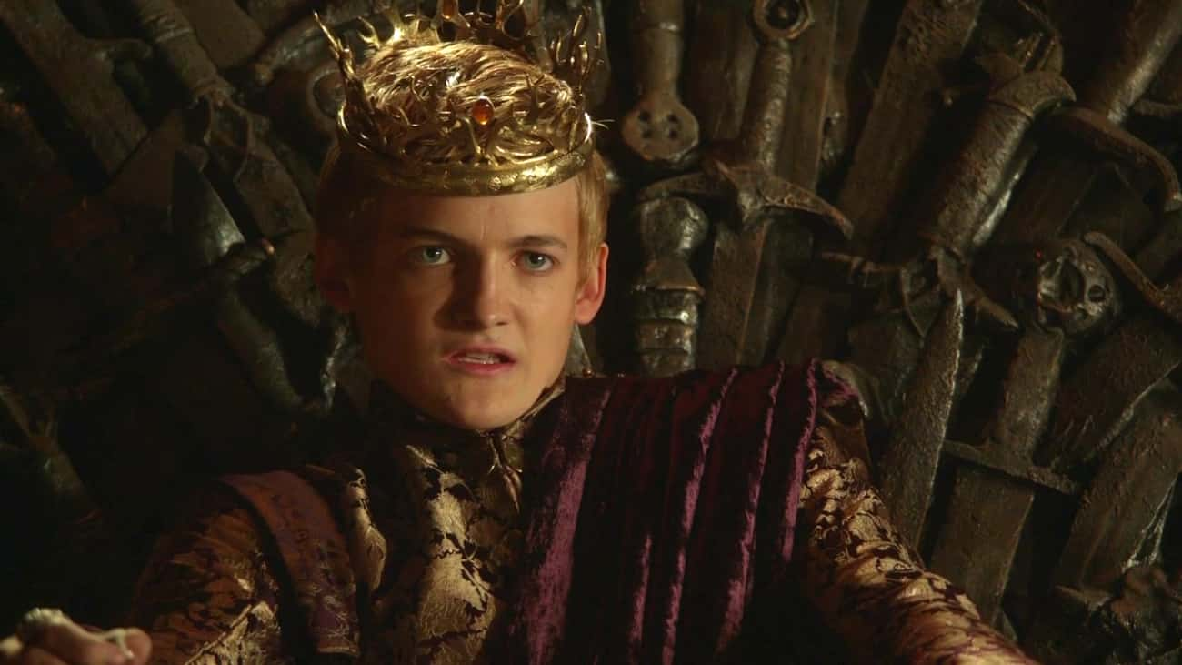 Joffrey Baratheon is listed (or ranked) 2 on the list The Most Psychopathic Characters On 'Game Of Thrones'