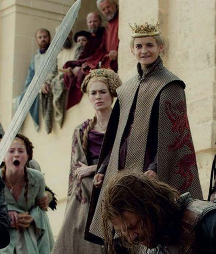 Joffrey Baratheon Beheaded Ned Stark