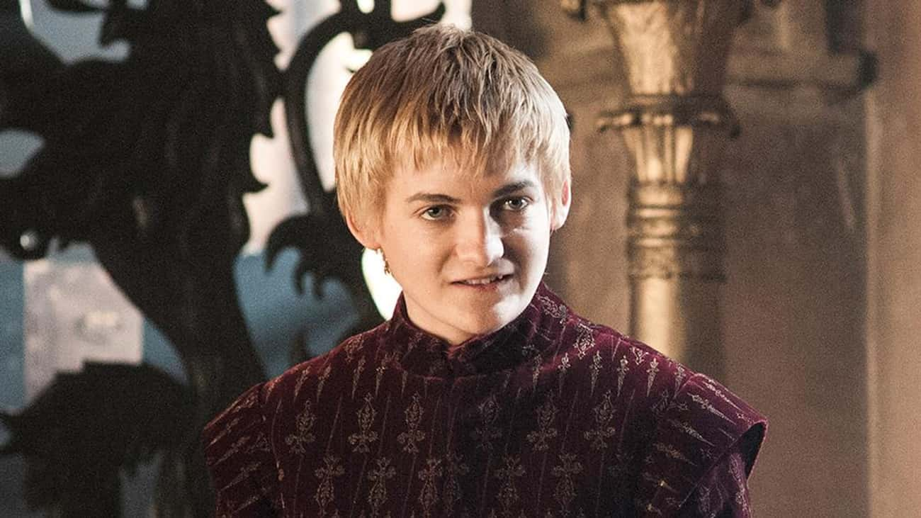 Joffrey Baratheon is listed (or ranked) 3 on the list All Members Of House Baratheon