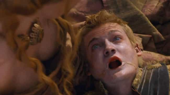 Joffrey Baratheon is listed (or ranked) 1 on the list Which Gruesome 'Game Of Thrones' Death Are You, Based On Your Zodiac Sign?