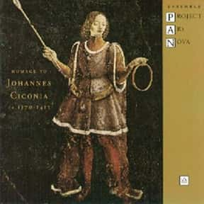 Johannes Ciconia is listed (or ranked) 9 on the list The Best Medieval Composers, Ranked