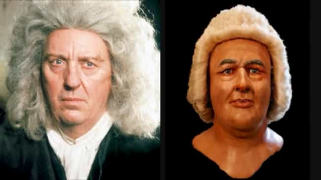 Johann Sebastian Bach is listed (or ranked) 2 on the list Thanks To 3D CGI Recreations, We Can See How Actors Compare To The Historical Figures They Play