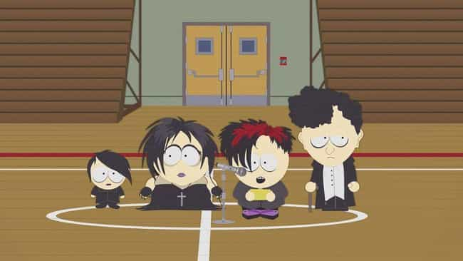 The Ungroundable is listed (or ranked) 3 on the list The Best 'South Park' Episodes Featuring The Goth Kids