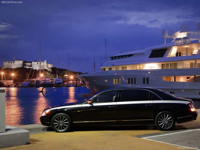 Maybach Zeppelin is listed (or ranked) 4 on the list Full List of Maybach Models