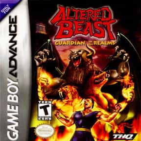 Altered Beast: Guardian of the is listed (or ranked) 20 on the list Nintendo Game Boy Advance Games
