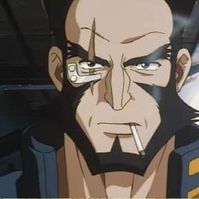 Jet Black is listed (or ranked) 11 on the list The Greatest Anime Characters That Smoke