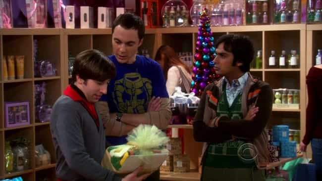 The Bath Item Gift Hypothesis is listed (or ranked) 1 on the list The Best Holiday Episodes On 'The Big Bang Theory'