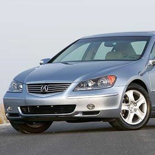 2005 Acura RL is listed (or ranked) 1 on the list List of All Cars Made in 2005