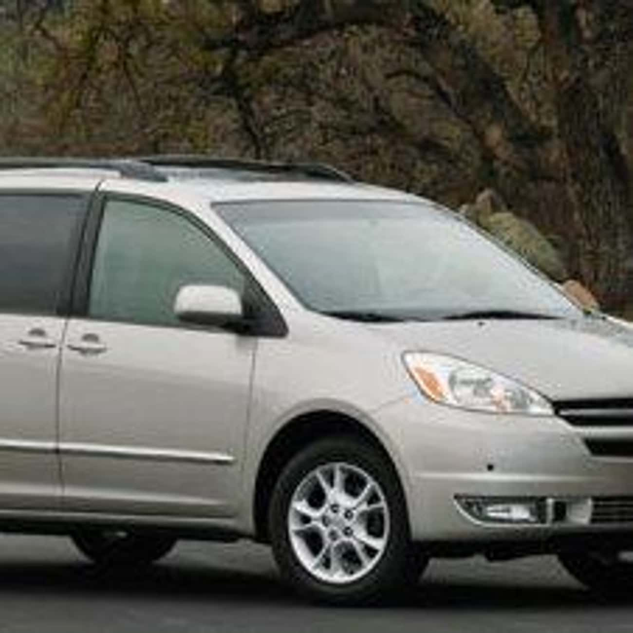 2004 Toyota Sienna is listed (or ranked) 2 on the list The Best Toyota Siennas of All Time