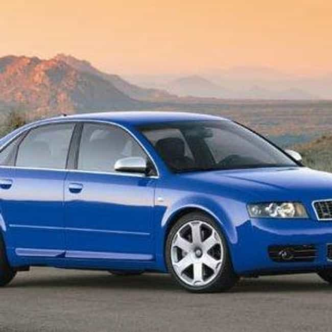 2004 Audi S4 is listed (or ranked) 1 on the list The Best Audi S4s of All Time