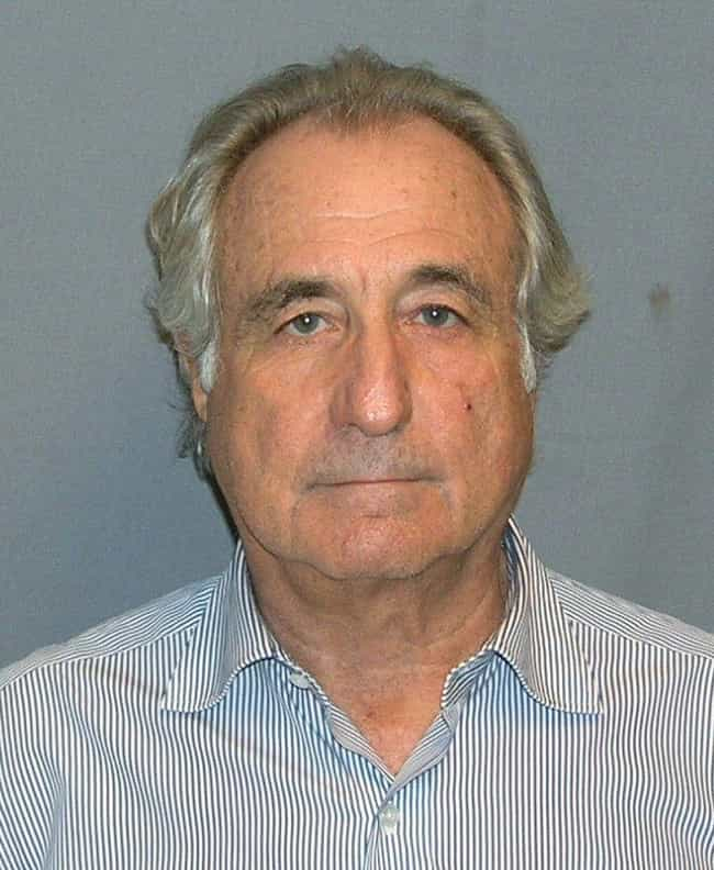 Bernard Madoff is listed (or ranked) 4 on the list Famous Male Bankers