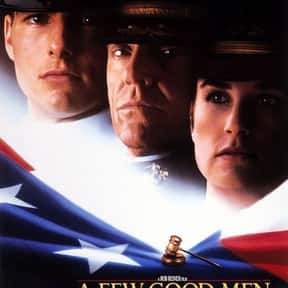 A Few Good Men is listed (or ranked) 21 on the list The Best Oscar-Nominated Movies of the '90s