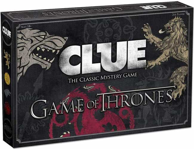 Game of Thrones is listed (or ranked) 2 on the list The Best Editions of Clue