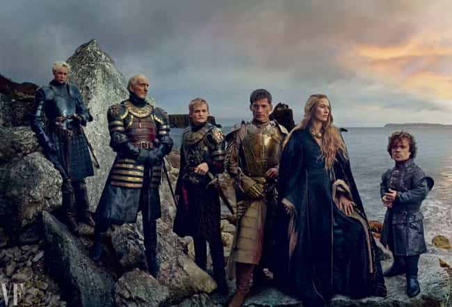 Game of Thrones is listed (or ranked) 1 on the list Current TV Shows with the Best Costumes