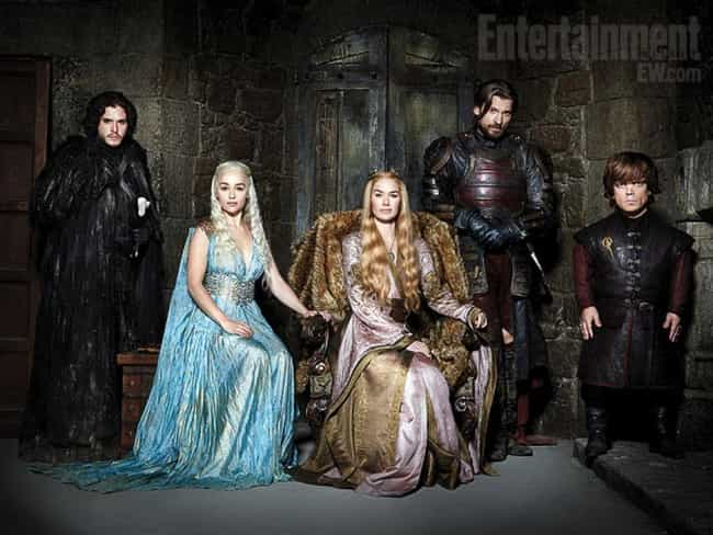 Game of Thrones is listed (or ranked) 3 on the list TV Shows with the Hottest Casts