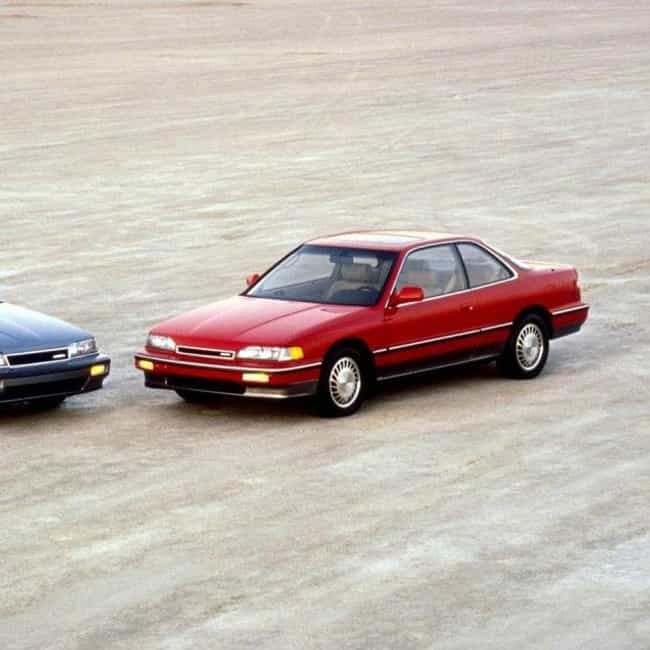 1990 Acura Legend Coupe ... is listed (or ranked) 1 on the list List of All Cars Made in 1990