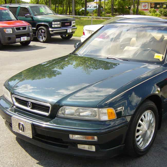 1989 Acura Legend Coupe ... is listed (or ranked) 1 on the list List of All Cars Made in 1989