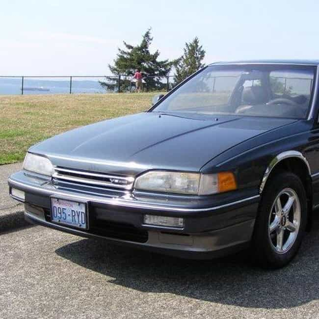 1988 Acura Legend Coupe ... is listed (or ranked) 3 on the list List of All Cars Made in 1988