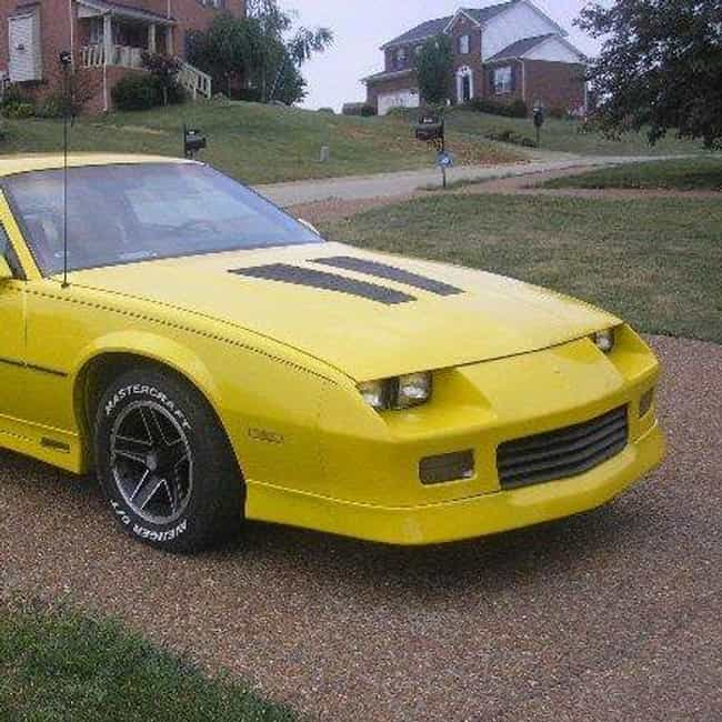 1985 Chevrolet Camaro is listed (or ranked) 4 on the list The Best Chevrolet Camaros of All Time
