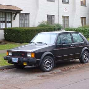 1984 Volkswagen GTI Rabbit is listed (or ranked) 7 on the list List of Popular Hatchbacks