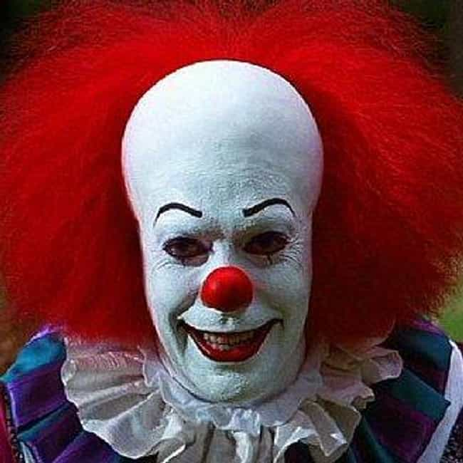 Pennywise the Dancing Cl... is listed (or ranked) 4 on the list The Most Utterly Terrifying Figures in Horror Films