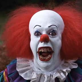 Pennywise the Dancing Clown is listed (or ranked) 2 on the list The Fictional Monsters You'd Least Like to Have After You