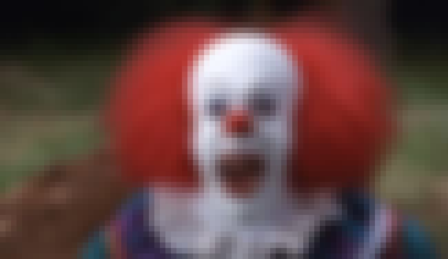 Pennywise the Dancing Clown is listed (or ranked) 1 on the list 60+ of Your Greatest Childhood Fears