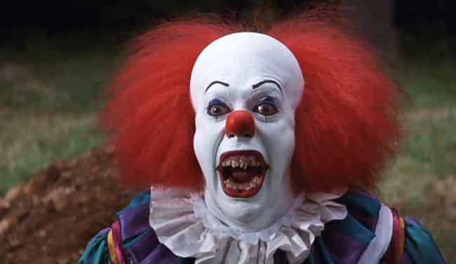 Pennywise the Dancing Cl... is listed (or ranked) 1 on the list 60+ of Your Greatest Childhood Fears