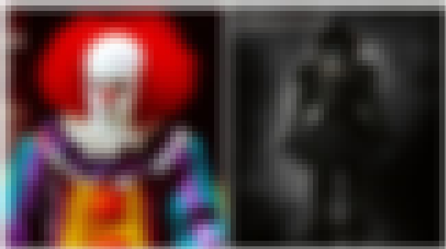 Pennywise the Dancing Clown is listed (or ranked) 2 on the list Famous Villains Whose Looks Have Totally Changed