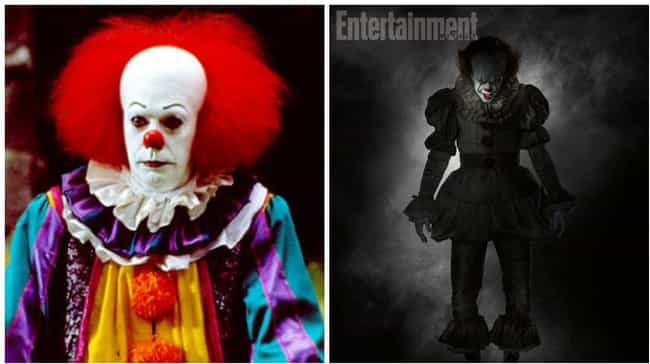 Pennywise the Dancing Cl... is listed (or ranked) 4 on the list Famous Villains Whose Looks Have Totally Changed