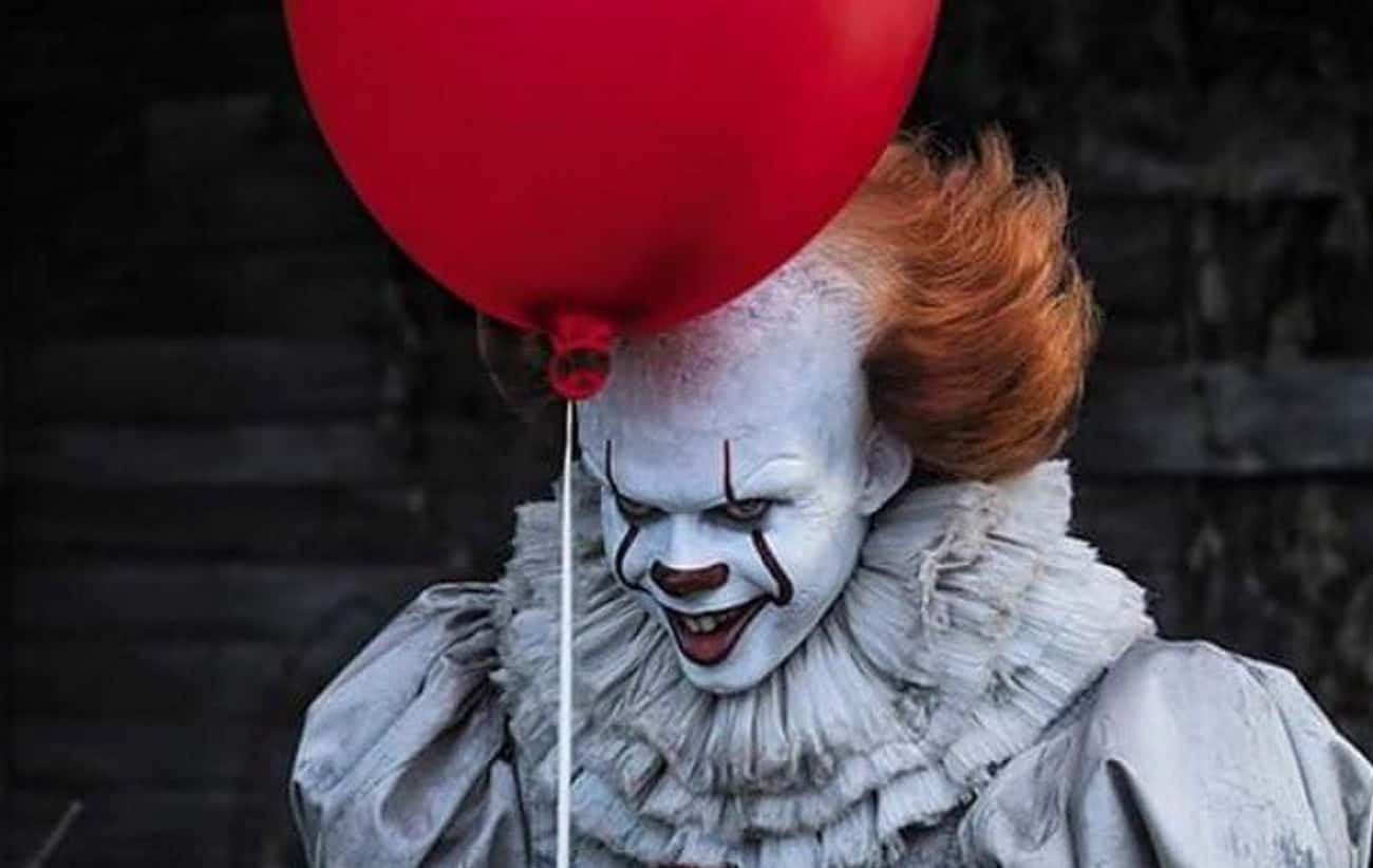 Pennywise the Dancing Clown is listed (or ranked) 1 on the list Which Stephen King Villain Would Win In A Battle Royale?