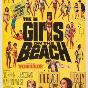 The Girls on the Beach is listed (or ranked) 20 on the list The Best '60s Beach Movies