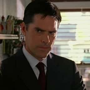 "Aaron ""Hotch"" Hotchner is listed (or ranked) 12 on the list The Most Brilliant TV Detectives"