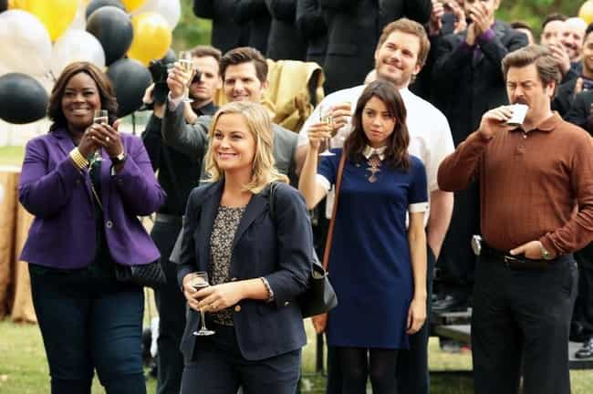 Parks and Recreation is listed (or ranked) 5 on the list TV Casts That Still Hang Out Even Though Their Shows Ended