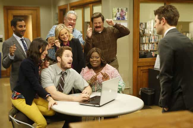 Parks and Recreation is listed (or ranked) 3 on the list The Best TV Shows To Leave On In The Background