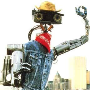 Johnny 5 is listed (or ranked) 18 on the list The Greatest Robots of All Time