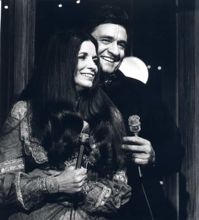 Johnny Cash & June Carter Cash is listed (or ranked) 1 on the list 15 Famous Rock Couples