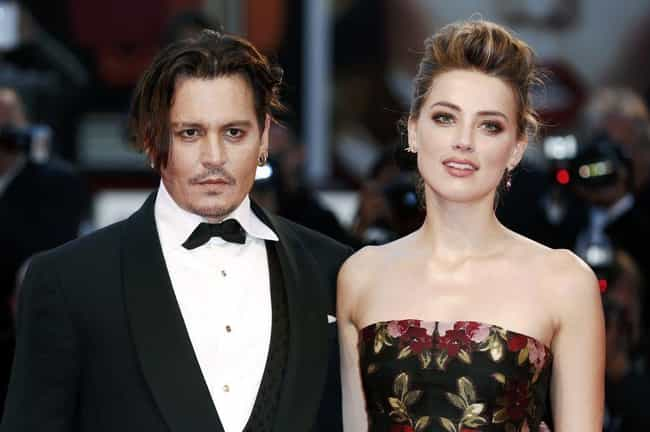 Johnny Depp is listed (or ranked) 1 on the list Celebrities Who Have Been Charged With Domestic Abuse