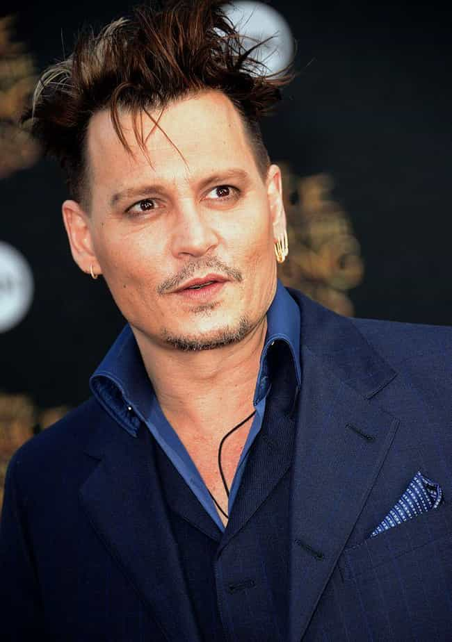 Johnny Depp is listed (or ranked) 2 on the list Celebrities Who Live In West Hollywood