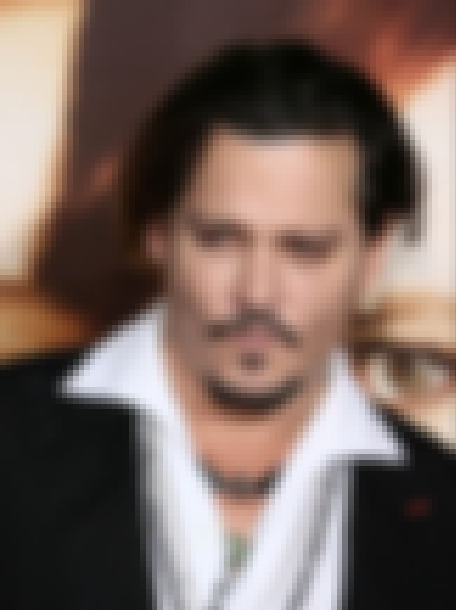 Johnny Depp is listed (or ranked) 2 on the list Celebrities Who Self-Harm