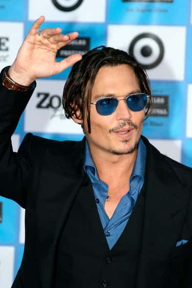 """Johnny Depp is listed (or ranked) 1 on the list Male Celebrities Who Are 5'9"""""""