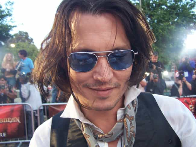 Johnny Depp is listed (or ranked) 6 on the list 53 Celebrities Who Own Horses